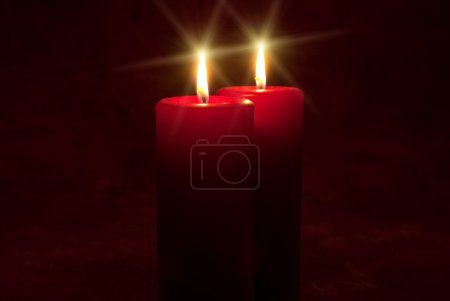 Photo for Peaceful candlelight - Royalty Free Image
