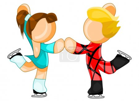 Figure skaters icon