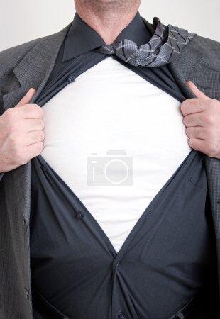 Business superhero