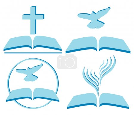 Vector symbols of Christianity, several options...