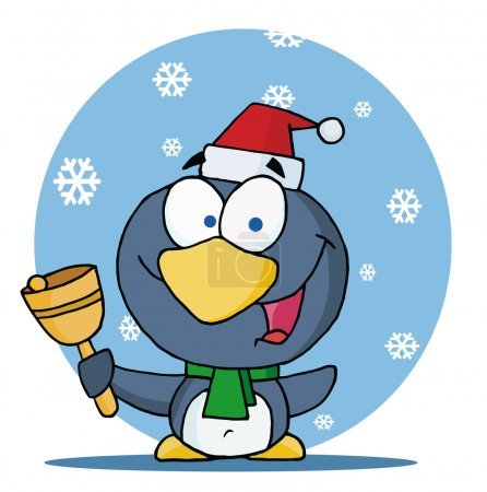 Christmas Penguin Ringing