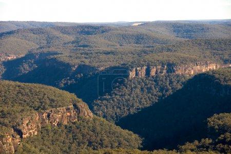 Foto de Barranco de Bundanoon, capturado desde el Mirador de punto Eco Parque Nacional morton, bundanoon, Nueva Gales del sur, australia - Imagen libre de derechos