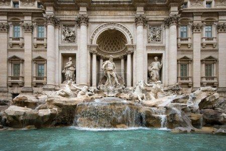 The Trevi Fountain - Rome