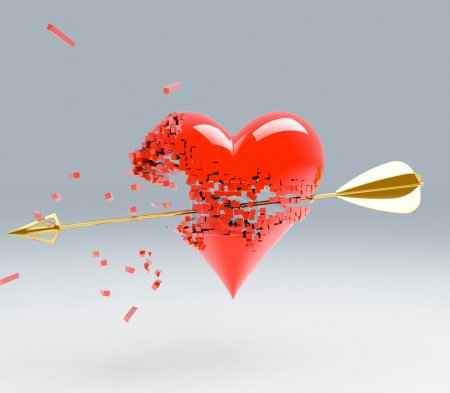 Photo for A love break heart - Royalty Free Image