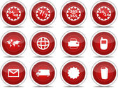 Red icon set 02