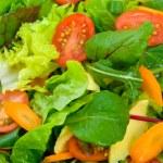 Delicious fresh mixed salad...