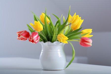 Tulips in vase