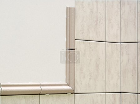 Unfinished tiles