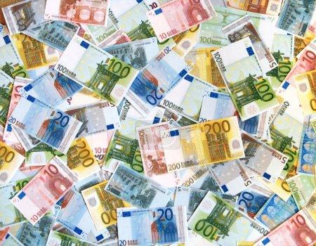 Photo pour Euro fond - image libre de droit
