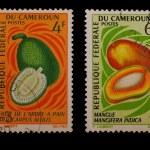 Постер, плакат: Post stamps of Cameroon