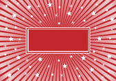 Abstract Background Red White Stars