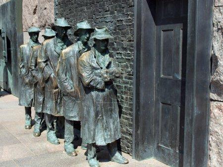 FDR Memorial Great Depression statue2