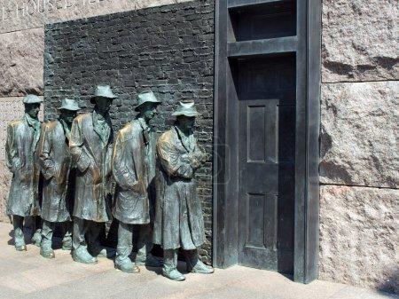 FDR Memorial Great Depression statue3