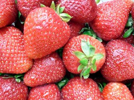 Strawberries closeup 3