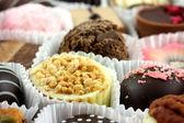 Luxury individual chocolates in cases