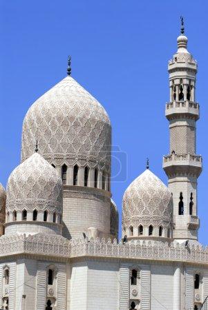 Photo pour Coupole de la mosquée à Alexandrie ville en Egypte - image libre de droit