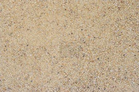 Photo pour Détail de la surface de sable arrondie - image libre de droit
