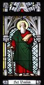 Saint Paul - stained window - Prague