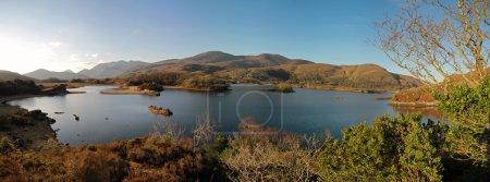 Irish mountains panoramic