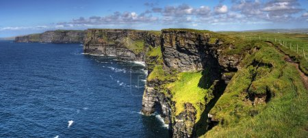 Cliffs of Moher - panoramic