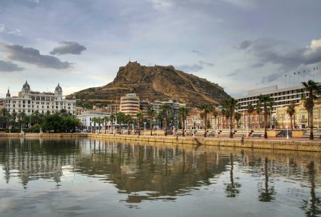 Harbor in Alicante