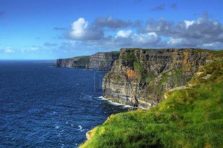 Photo pour Falaises de moher - Irlande - image libre de droit