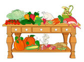 Still life with some food useful for your healthy nutrition