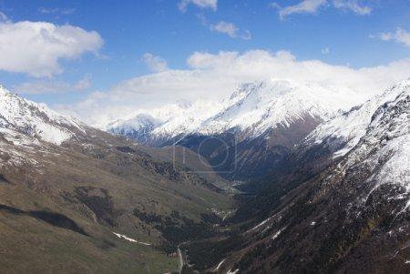 Caucasus Mountains in spring