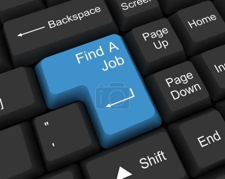 Photo pour Trouver un emploi - image libre de droit