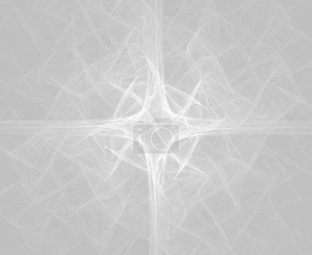 Foto de Alta resolución llama fractal formando una cruz litúrgica moderna, palabras clave se refiere para usar durante el año de iglesia - Imagen libre de derechos