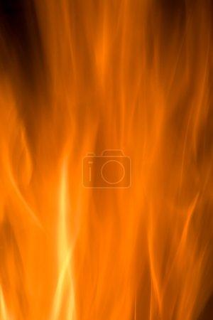Orange Fire Textured Background.