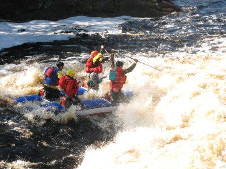 Catamaran rafting