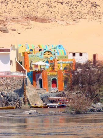 Nubian House on the River Nile...