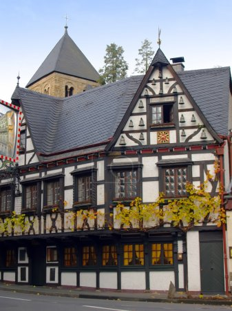 Country Half-Timbered House in Germany