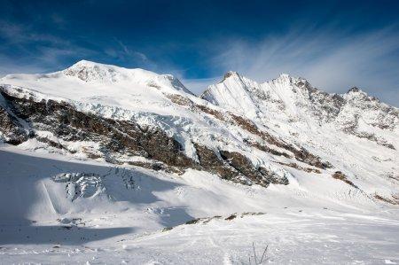 Saas Fee mountain range