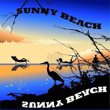 Sunny Beach in Bulgarian