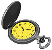 Illustration set of pocket watch in vector