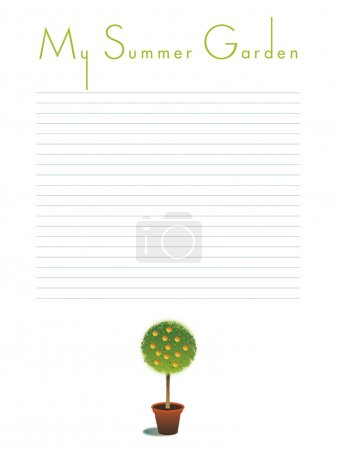 My Summer Garden Notes