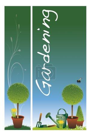 Garden banners