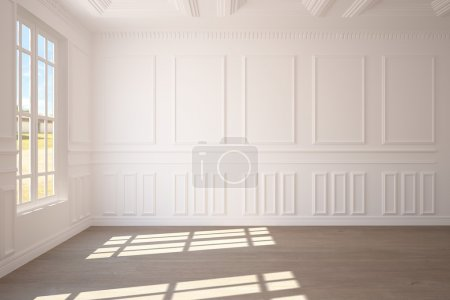 Photo for White empty room - Royalty Free Image