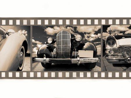 Car on 35mm film