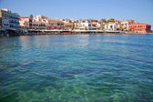 Venetian port of Chania, Greece