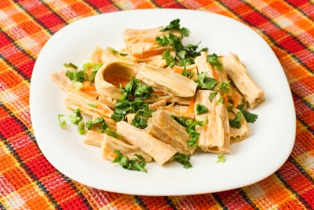 Yuba (tofu bamboo) salad