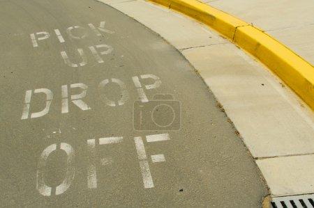 Pick Up, Drop Off Curb