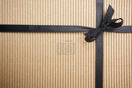 Corrugated Surface Gift Box and Ribbon