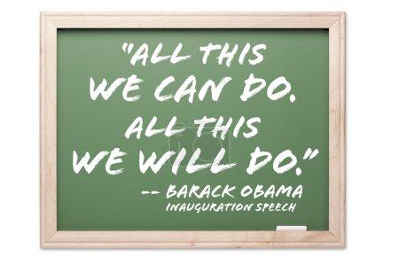 President Obama Inauguration Quote