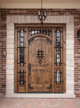 Newly Constructed Doorway