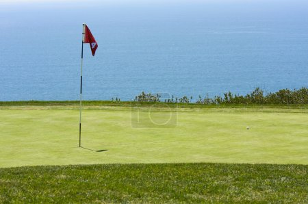 Photo for View from Torrey Pines Golf Course Over the Pacific Ocean in San Diego, California - Royalty Free Image