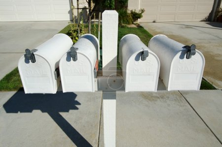 Rural Mailboxes on Post