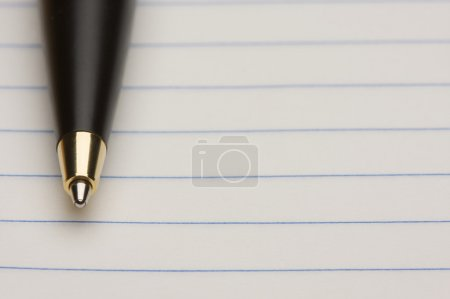 Pen and Pad of Lined Paper